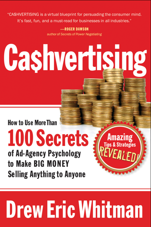 Cashvertising by Drew Eric Whitman Book Front Cover Image HD