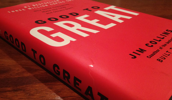 Good to Great by Jim Collins Front Cover HD Image Harkuchh