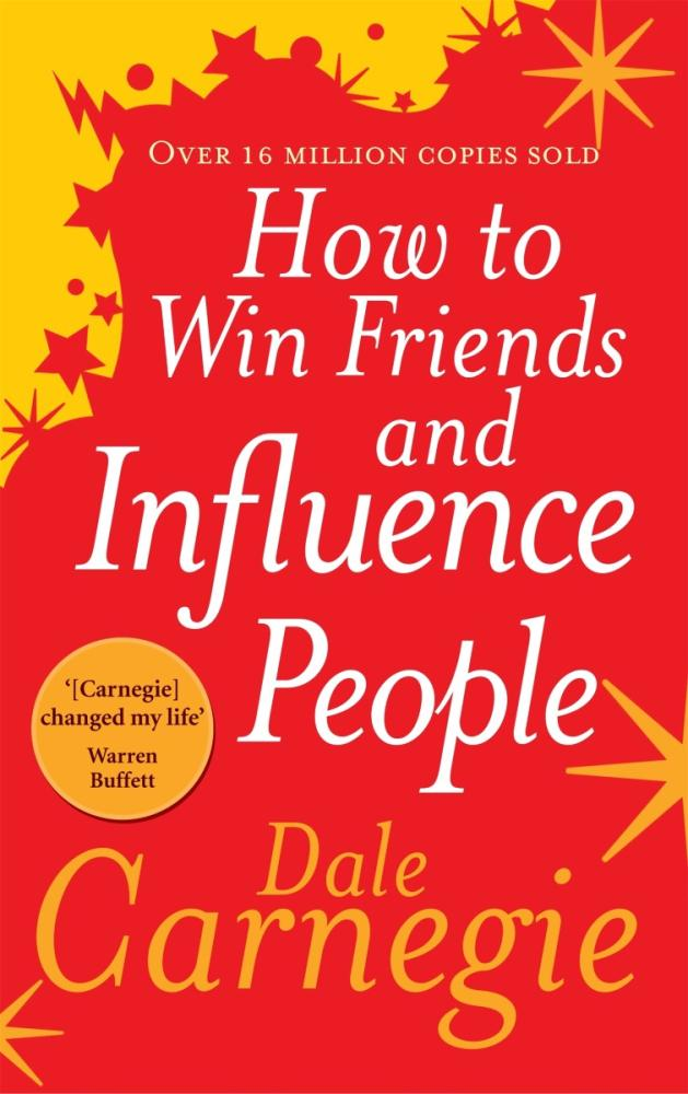 How to Win Friends and Influence People Book Front Cover HD Image Harkuchh