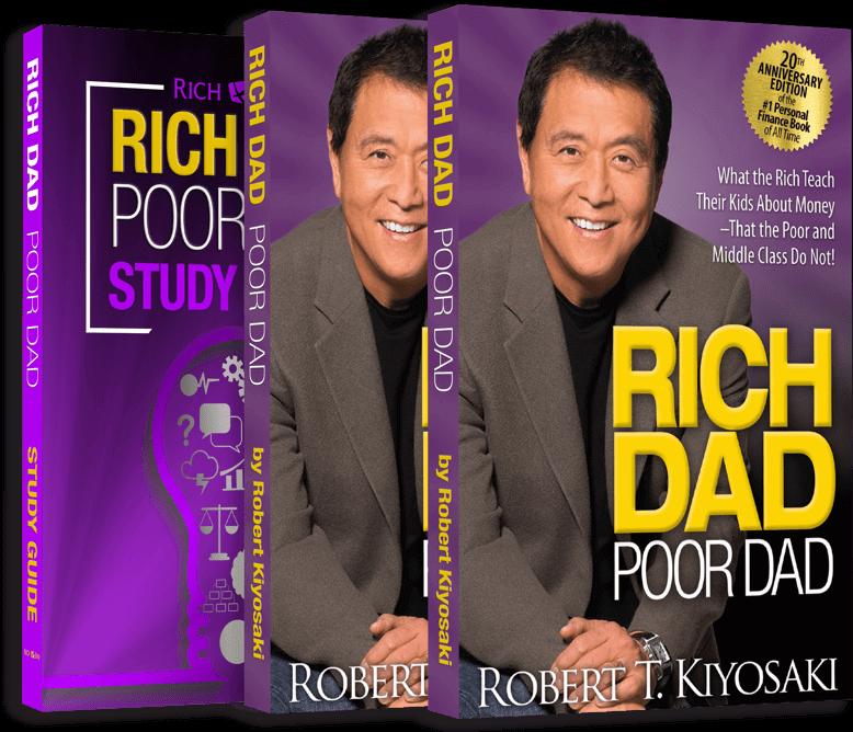 Rich Dad Poor Dad Book Front Cover Image HD