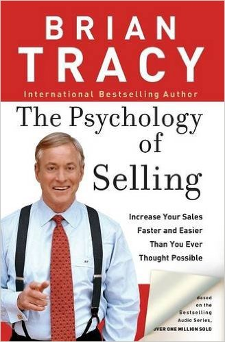 The Psychology of Selling by Brian Tracy Book Front Cover HD Image Harkuchh