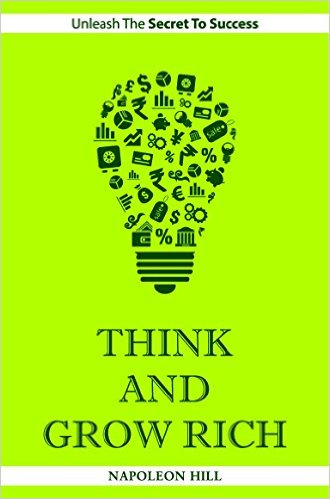 Think and Grow Rich Book Front Cover HD Image Harkuchh